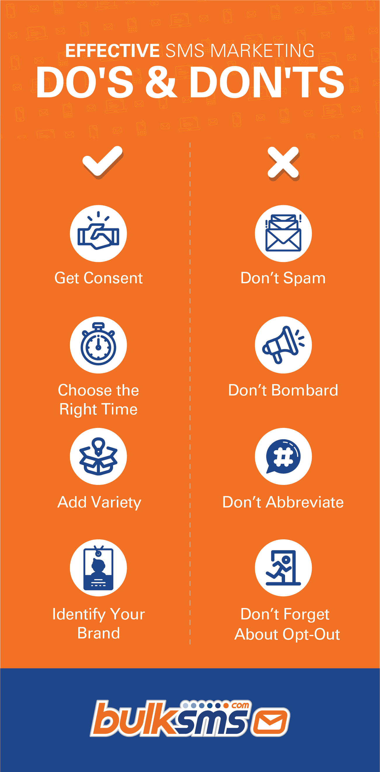 Effective SMS Marketing Do's and Dont's