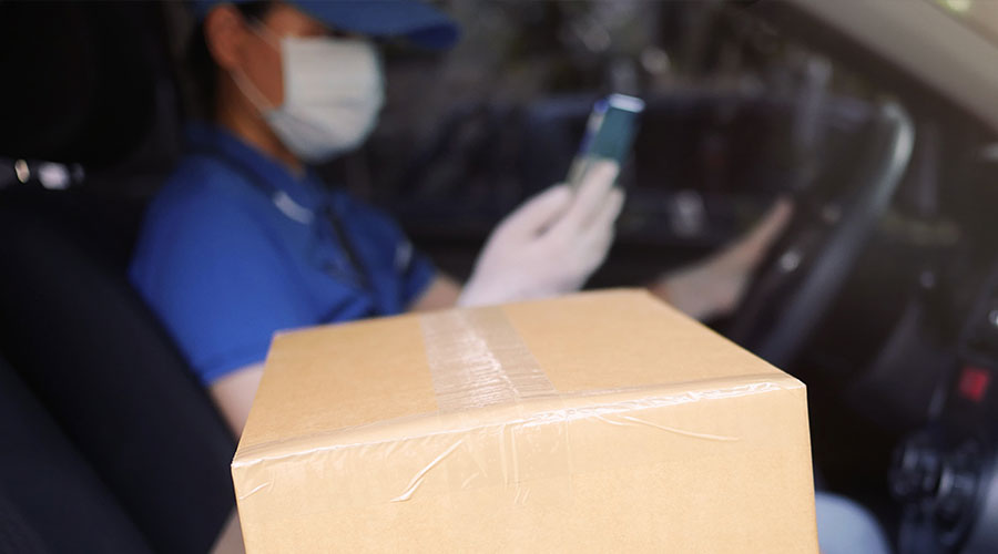 SMS Helps Courier Companies to Maintain Social Distancing