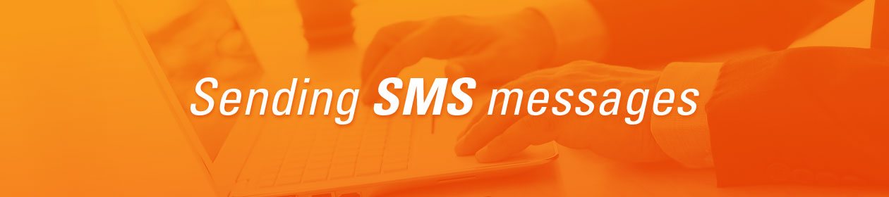How to send bulk SMS messages from the internet
