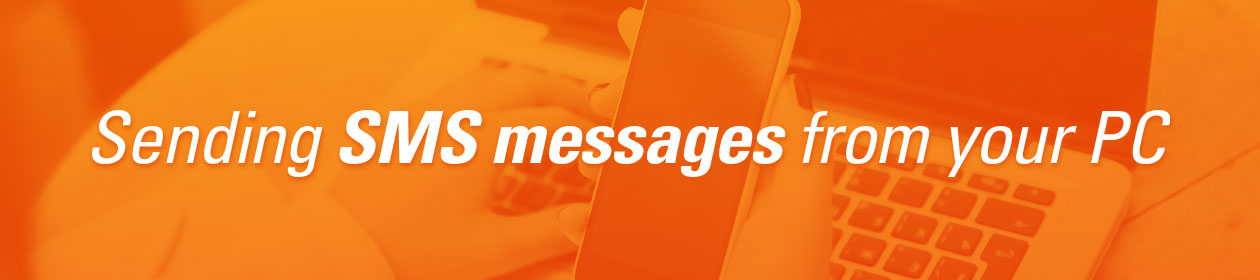 How to send bulk SMS messages from your PC