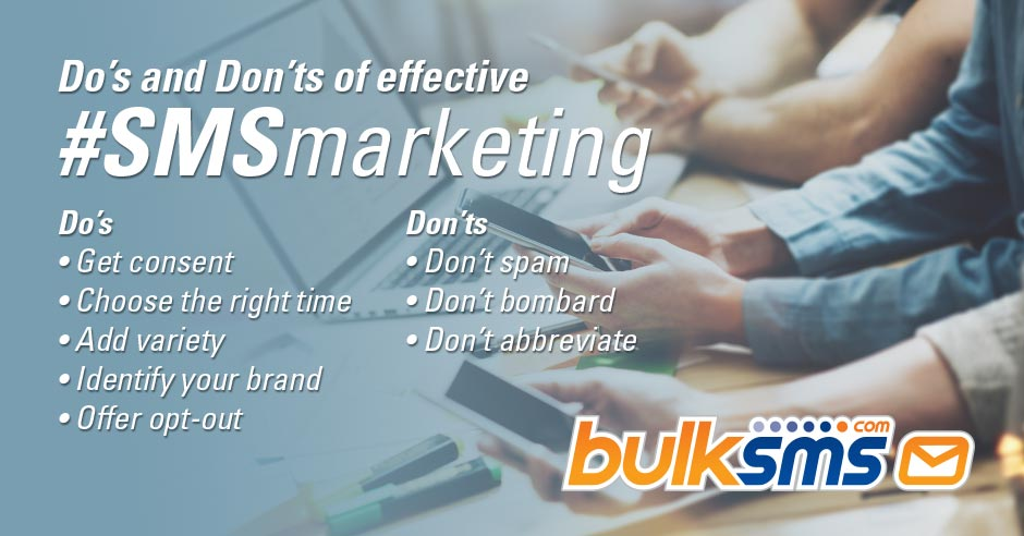 Do's and Don'ts of Effective SMS Marketing