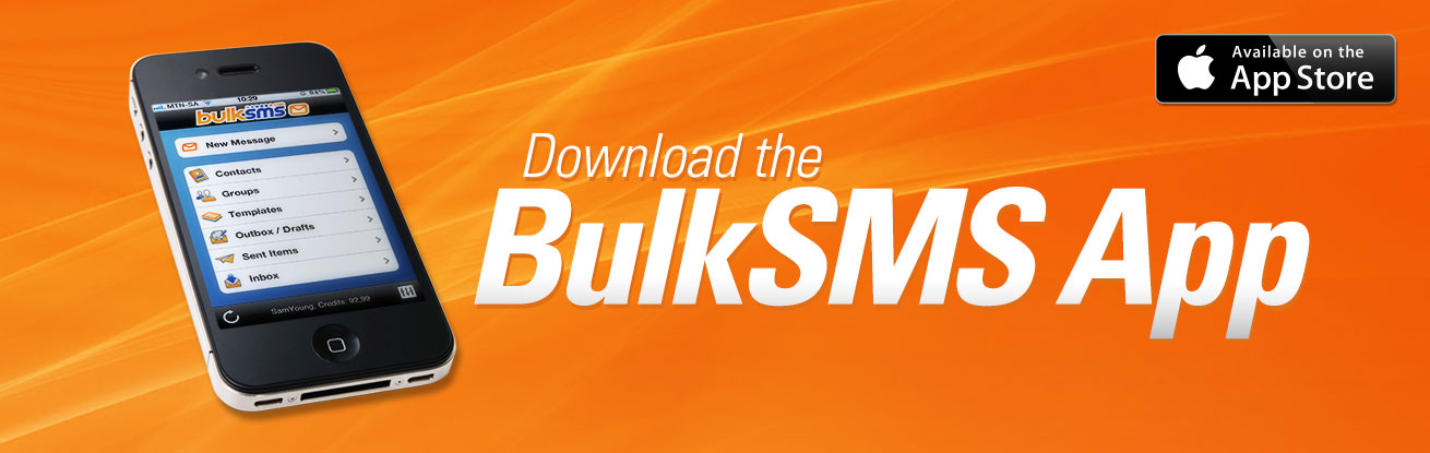 BulkSMS for the iPhone, iPod or iPad